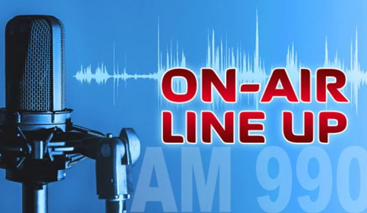 ON-AIR LINE UP